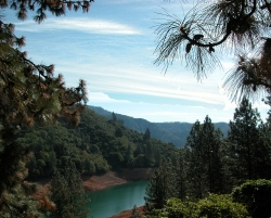 a stop at the fragrant Shasta Lake