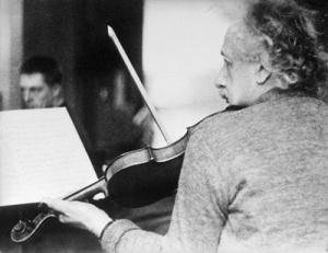 Einstein fiddle