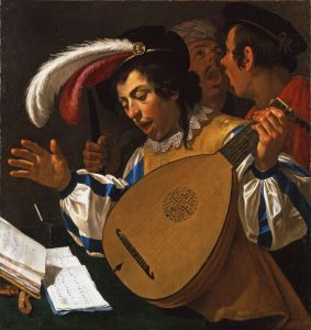 Studying the lute