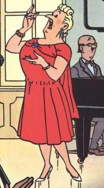 Tintin singer
